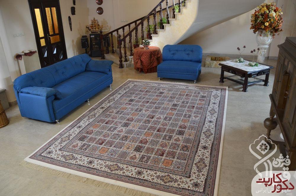 دکوراسیونی شیک با فرش ۱۲۰۰ شانه آریانا قیطران