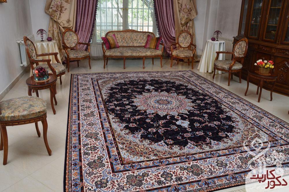 نمای فرش ۱۲۰۰ شانه دلبر قیطران