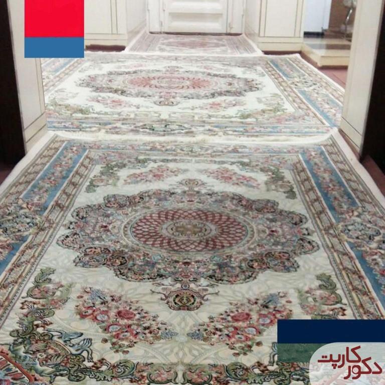 فرش های هایبالک طرح فلورا در سایزهای مختلف